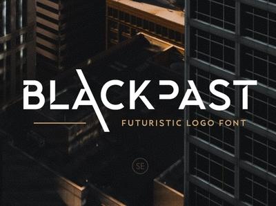 Blackpast - Futuristic Logo Font unique vintage font retro font 80s font futuristic technology font techno future professional serif fonts sans serif font sans serif sans font design future font fonts font logo fonts logo font futuristic logo font