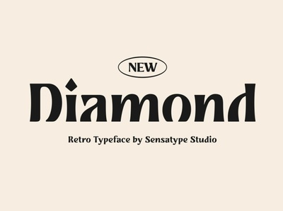 Diamond - Retro Typeface advertising serif typeface letters design special character logo projects branding unique style old font vintage font retro fonts retro font serif font serif sans serif font sans serif retro typeface