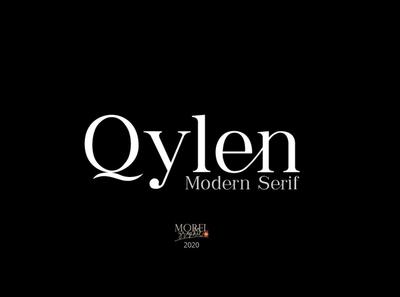 Qylen - Modern Serif Font logos quote elegant fonts font design fonts collection professional design wedding fonts luxury fonts clean minimal calligraphy lettering branding sans serif font sans serif serif font modern serif font modern serif modern