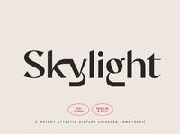 Skylight - Display Sans-Serif Font serif fonts font design fonts collection display serif font wedding luxury script display font professional design typeface logo lettering branding font serif font serif sans serif font sans serif display