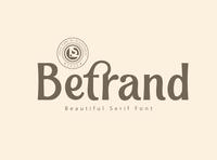 BETRAND - Serif Font lettering art classy fonts classy calligraphy font modern calligraphy calligraphy typography typeface design modern fonts elegant fonts font design fonts collection lettering branding serif fonts sans serif font sans serif serif font serif