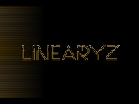 LINEARYZ font lines typography typeface abstract font abstract geometric design design fonts collection font family font design geometry font geometrical geometric concept concept art concept font fonts constructed font line font font