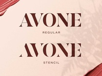 AVONE - Stylish Modern Stencil calligraphy fonts modern calligraphy calligraphy elegant fonts serif font sans serif serif fonts font design fonts collection stylish fonts logo lettering branding stylish font modern stencil font stencil font font stencil modern stylish