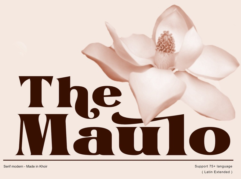 The Maulo - Serif Font elegant fonts font design fonts collection serif fonts professional design logo fonts vintage fonts retro fonts calligraphy fonts modern calligraphy calligraphy logo lettering branding fonts sans serif font sans serif serif font serif