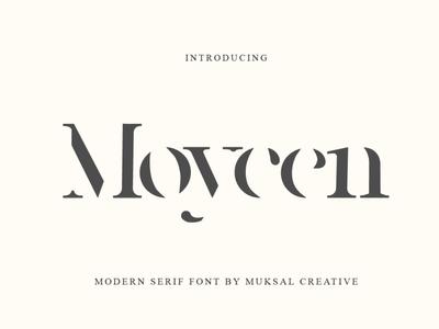 Moycen - Modern Serif Font font design art classy classic minimal design trendy trending popular modern lettering elegant fonts serif fonts typeface fonts font elegant font modern font serif font modern serif font