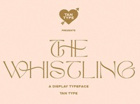The Whistling - Display Typeface modern calligraphy calligraphy modern minimal branding elegant fonts serif font sans serif serif fonts font design fonts collection display font professional design classy fonts fonts font typeface display typeface display