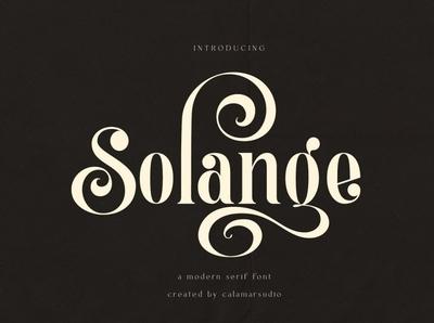 Solange Serif Font logos minimalist typography typeface modern fonts elegant fonts font design fonts collection design modern calligraphy calligraphy font calligraphy logo lettering branding sans serif font sans serif serif fonts serif font serif