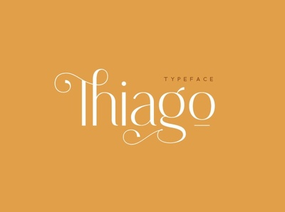 Thiago Font simple logo beautiful luxury font handwritten handwriting fonts collection font family modern calligraphy calligraphy font design typeface logo font modern logo serif font font sans serif font sans serif modern font modern