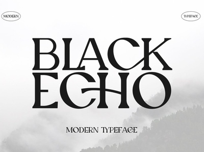 Black Echo Modern Ligature Font modern calligraphy calligraphy retro vintage sans serif serif fonts font design fonts collection logo lettering typeface typography fonts font modern logo ligature fonts modern ligature modern ligature font ligature