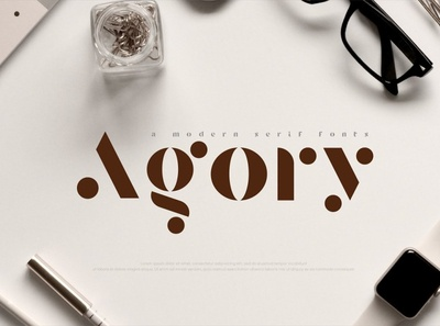 Agory - Modern Serif Font handwriting handwritten font design fonts collection modern calligraphy calligraphy logo lettering typeface typography design elegant font sans serif fonts font serif font serif modern serif font modern serif modern
