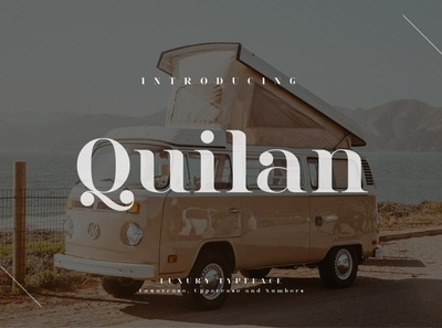 Quilan - Luxury Typeface typography regular simple professional design logo serif sans serif font branding modern fonts elegant fonts serif font sans serif serif fonts font design fonts collection typeface luxury fonts luxury font luxury