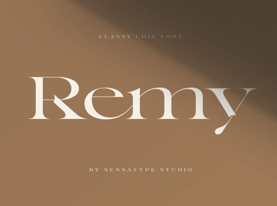 Remy - Classy Chic Font classy logo classy fonts beauty shape branding logos design unique font unique logo typeface chic typeface chic fonts font classy font chic font chic classy chic font classy chic classy