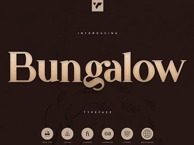Bungalow Typeface - 9 fonts sans serif font serif font serif vintage typeface bungalow font bungalow badge trending professional classic font classy font logo lettering design fonts font versatile font retro vintage classic