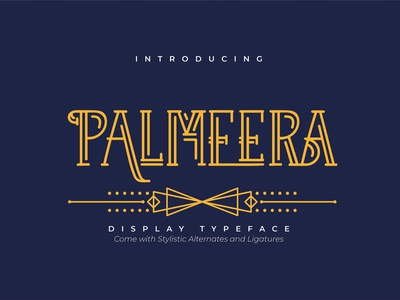 Palmeera | Display Typeface type design type lettering logo modern calligraphy calligraphy elegant fonts serif font sans serif serif fonts font design fonts collection typeface design display fonts display typeface display typography display type typeface display font display