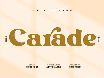 Carade-Elegant Serif Font art modern font elegant fonts sans serif font design fonts collection sans serif fonts beautiful unique letter quotes branding design logo lettering sans serif font serif fonts serif font serif elegant