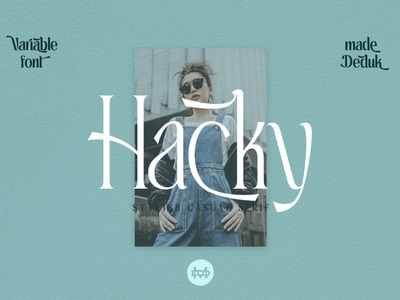 Hacky - Luxury Serif Family advertising branding modern fonts elegant fonts serif fonts font design fonts collection modern calligraphy calligraphy design logo lettering family font serif family sans serif serif font serif luxury font luxury stylisht luxury