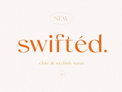 Swifted - Chic & Stylish Sans text font text serif fonts font design fonts collection stylish font design modern calligraphy calligraphy logo lettering fonts font serif font sans serif font sans serif sans modern stylish chic