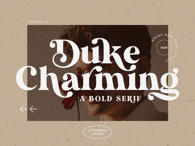 Duke Charming - A Unique Bold Serif calligraphy modern fonts sans serif fonts collection lettering art font awesome font family font design serif fonts design bold serif logo lettering fonts font unique font unique serif font serif bold