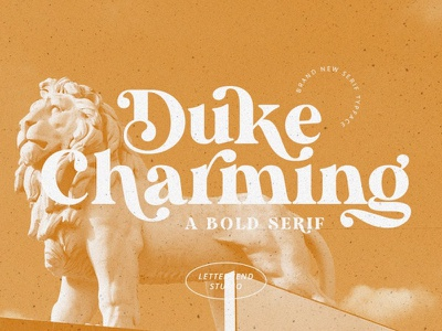 Duke Charming - A Unique Bold Serif modern fonts elegant fonts sans serif serif fonts font design fonts collection bold font advertising design modern calligraphy calligraphy logo lettering fonts font serif font bold serif font bold serif bold unique