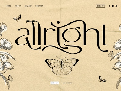 Allright - Fashionable Font luxury wedding serif fonts fonts collection font awesome font family font design typography chic font chic modern font design logo lettering fonts modern calligraphy modern font fashion fashionable