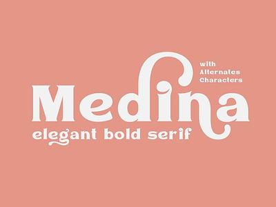 Medina - Serif Font bold elegant font type design branding modern fonts elegant fonts font design fonts collection professional design typography typeface lettering fonts font serif fonts sans serif font sans serif serif font serif