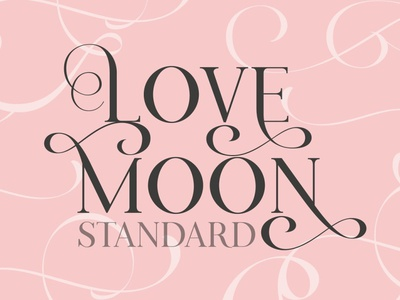 Love Moon Standard Font calligraphy font lettering professional simple modern calligraphy calligraphy logo sans serif font branding modern fonts elegant fonts serif font sans serif serif fonts font design fonts collection symbol design unique font