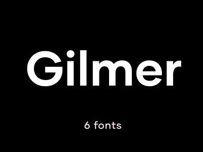 Gilmer – Geometric Sans Serif simple trending clean black bold minimal font minimal poster magazine modern calligraphy calligraphy logo lettering serif font serif sans serif fonts geometric font geometric sans serif font sans serif