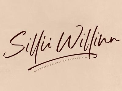 Sillii Willinn - Handwritten Font