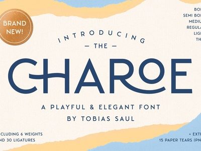 Charoe Typeface & Extras