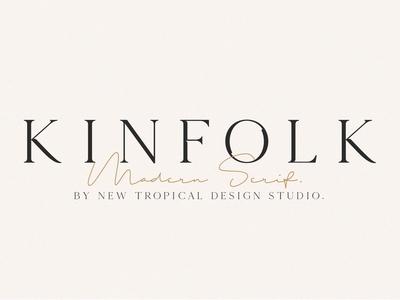 KINFOLK - Modern Serif Font