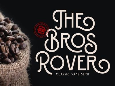 Bros Rover - Classic Sans Serif