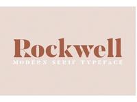 ROCKWELL- Modern Serif Font