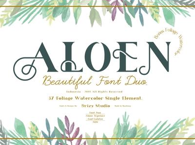 Aloen Font Duo + Extras