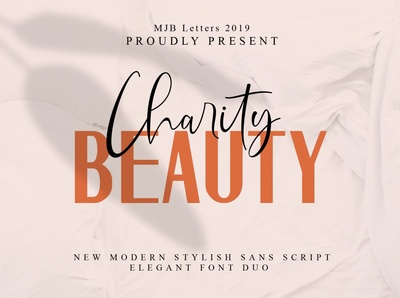 Beauty Charity // Elegant Paired Duo