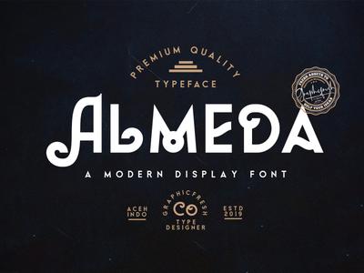 Almeda // A Modern Vintage Font