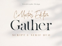 Gather Collector's Edition Font Duo