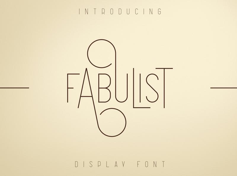 Fabulist - Display font stylish luxury logo modern font family elegant branding logo fonts serif fonts modern fonts elegant fonts font design fonts collection display fonts serif font serif sans serif modern font clean font display font