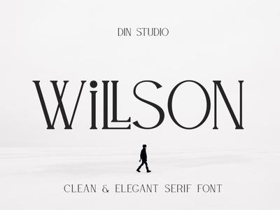 WILLSON - Clean Serif