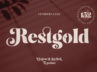 Restgold - Elegant & Stylish Typeface