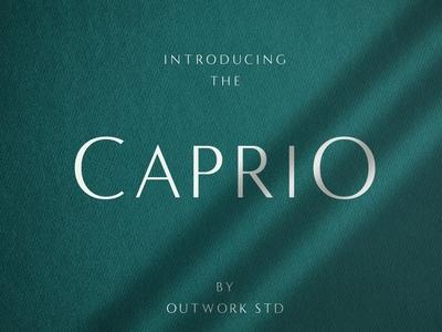 Caprio - Elegant Typeface