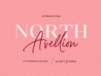 North Avellion - Script & Serif Duo