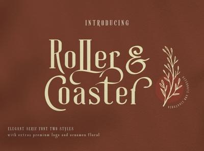 Roller Coaster Elegant Serif (Extra)