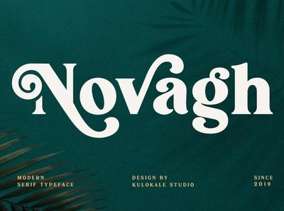 Novagh - Modern Serif Font