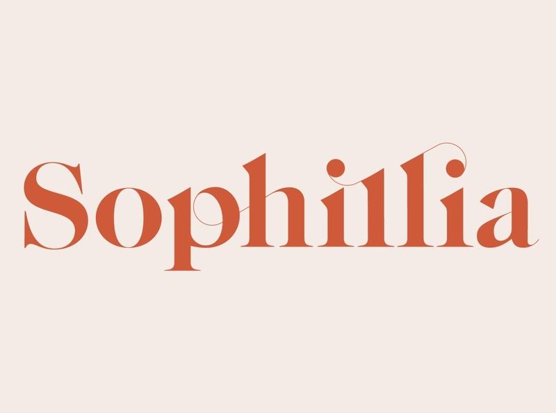 Sophillia - Ligature Serif Font typeface feminine logo fonts lettering fonts modern fonts elegant fonts font design fonts collection ligatures branding serif typeface sans serif typeface sans serif fonts sans serif font sans serif serif fonts serif font serif ligature serif font ligature
