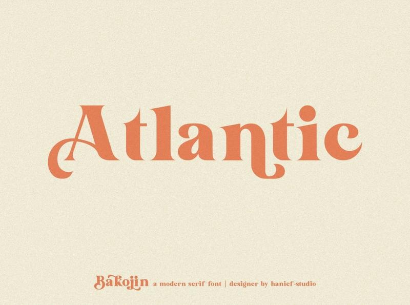 Bakojin//Modern Serif Font elegant design branding logo fonts lettering fonts elegant fonts font design fonts collection sans serif fonts sans serif font sans serif modern typeface modern fonts modern font typeface serif typeface serif fonts serif font serif modern