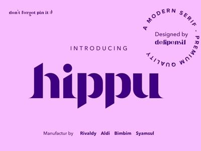 Hippu Medium Font