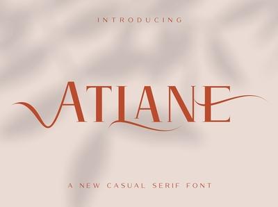Atlane Casual Serif Font