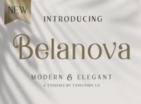 Belanova - Modern Serif Font