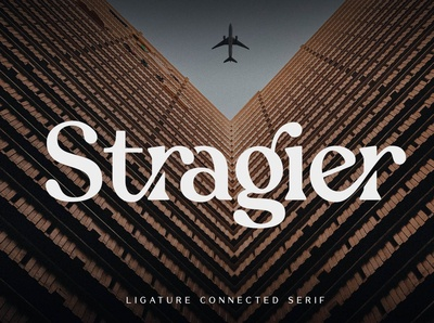 Stragier - Ligature Connected Serif