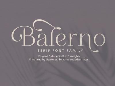 Balerno Serif Family